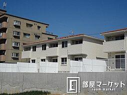 愛知県豊田市本地町3丁目の賃貸アパートの外観