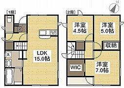[一戸建] 岡山県岡山市南区東畦 の賃貸【/】の間取り