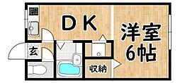 平野駅 3.8万円