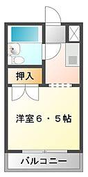 グリーン江坂[3階]の間取り