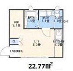 フェアリーガーデン[2階]の間取り