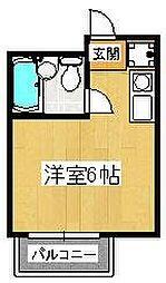 島田ハイツII[103号室]の間取り