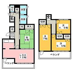 NSハイム[4階]の間取り