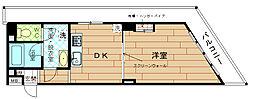 阪神千鳥橋マンション[3階]の間取り