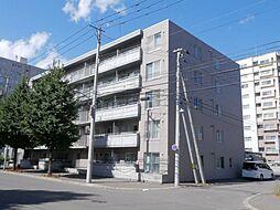 北海道札幌市東区北三十三条東14丁目の賃貸マンションの外観