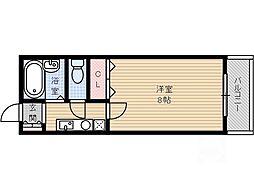 宮元7番館[3階]の間取り
