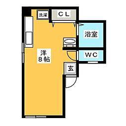 坂井ビル[1階]の間取り