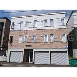 北海道札幌市豊平区平岸一条1丁目の賃貸マンションの外観
