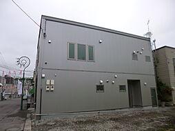 北海道小樽市稲穂3丁目の賃貸アパートの外観