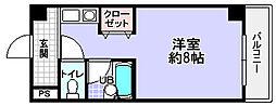 第2ハートビル[6階]の間取り