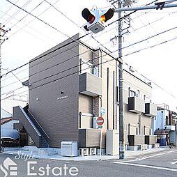 愛知県名古屋市中村区長筬町7丁目の賃貸アパートの外観