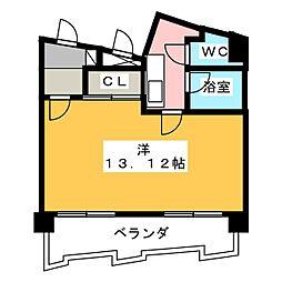 CITY M-56[9階]の間取り