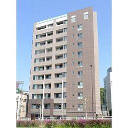 東京都港区高輪1の賃貸マンションの外観