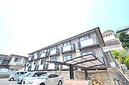広島県広島市東区牛田旭2丁目の賃貸アパートの外観