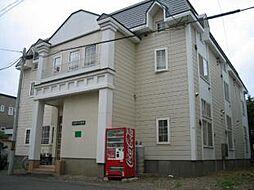 ローヤルハイツN28[1階]の外観