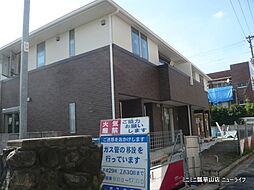 大阪府東大阪市立花町の賃貸アパートの外観