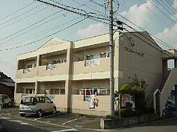愛知県一宮市開明字新田郷の賃貸アパートの外観