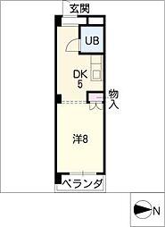 MSビル[4階]の間取り