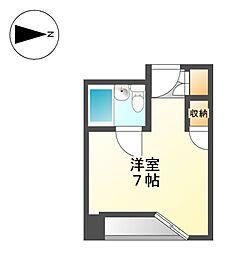 ベルモア堀詰[8階]の間取り