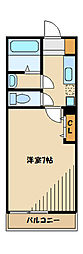 神奈川県相模原市中央区共和4丁目の賃貸マンションの間取り