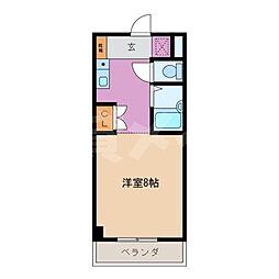 ロゼーリマンション[4階]の間取り