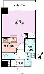 GEO東幸町弐番館[605号室]の間取り