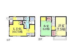 [一戸建] 兵庫県神戸市東灘区御影1丁目 の賃貸【/】の間取り