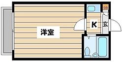 東京都板橋区中台1の賃貸アパートの間取り