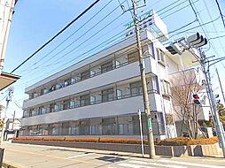 埼玉県川口市南鳩ヶ谷6の賃貸マンションの外観