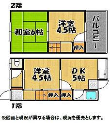 松雅苑[1階]の間取り