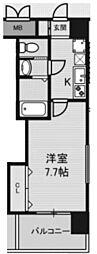 ラグゼ新大阪I[407号室]の間取り