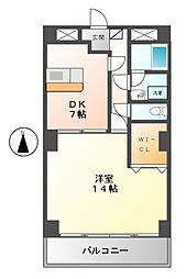 第一戸嶋屋ビル[5階]の間取り