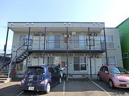 北海道札幌市南区藤野二条11丁目の賃貸アパートの外観