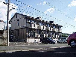 静岡県三島市柳郷地の賃貸アパートの外観