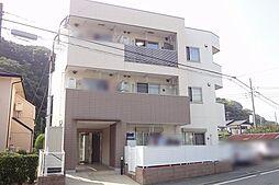 神奈川県鎌倉市津西1丁目の賃貸マンションの外観