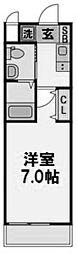 Wins Court Utajima[209号室]の間取り