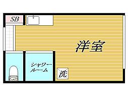 東京都豊島区東池袋2丁目の賃貸アパートの間取り