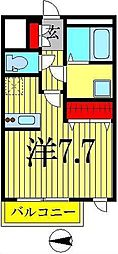 東京都墨田区本所1丁目の賃貸マンションの間取り