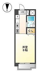 FIRST尼ケ坂[3階]の間取り
