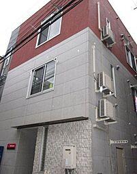 東京都北区東十条2丁目の賃貸アパートの外観