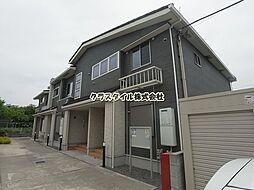 神奈川県厚木市中荻野の賃貸アパートの外観
