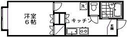 新潟県新潟市西区坂井砂山2丁目の賃貸アパートの間取り