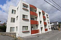 広島県東広島市西条土与丸5丁目の賃貸アパートの外観