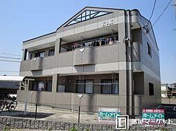 愛知県岡崎市洞町字東丸根の賃貸アパートの外観