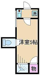 コエル第2ビル[1階]の間取り