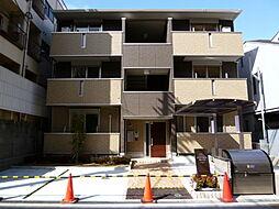 大阪府大阪市平野区背戸口5丁目の賃貸アパートの外観