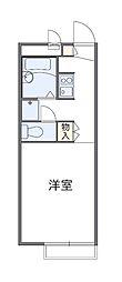 東京都清瀬市下清戸4丁目の賃貸アパートの間取り