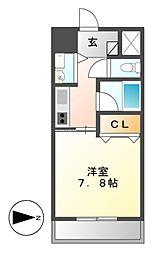 AXIS桜通内山[14階]の間取り