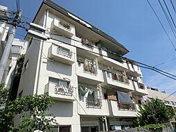 東京都中野区松が丘の賃貸マンションの外観