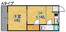 エスポワール墨江[3階]の間取り
